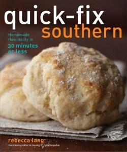 Cookbook review:  Quick-fix Southern, Homemade Hospitality in 30 minutes or Less (Recipe: Okra Fritters)