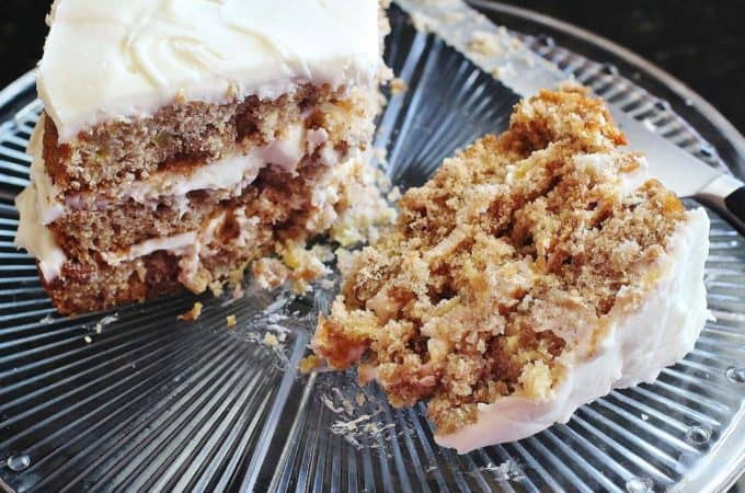 Hummingbird Cake. Southern Living Magazine's most requested recipe. A 1970's cake made with crushed pineapple, chopped bananas and pecans with a cream cheese icing.