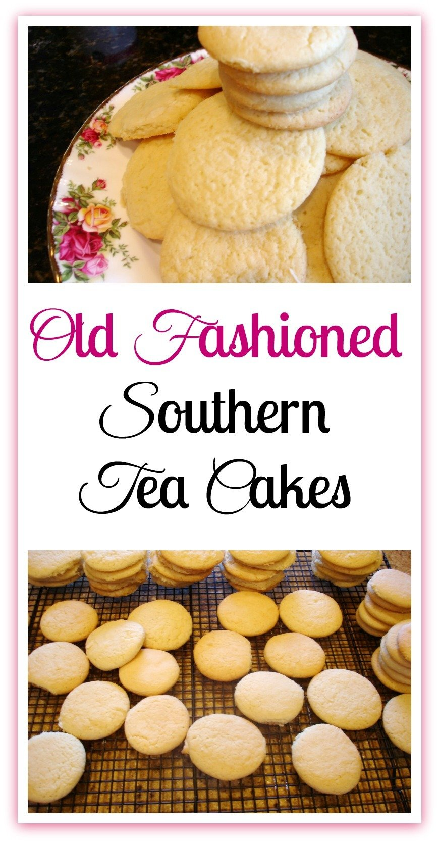 The old-fashioned Southern Tea Cakes served as a treat for generations of Southerners prior to commercialized bakeries. #Dessert #Southern #Tea Cakes