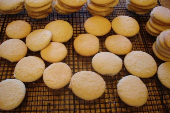 Southern Tea Cakes. An old fashioned recipe handed down for generations made with simple ingredients