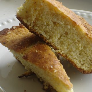 Give Us This Day Our Daily Bread (recipe:  Southern Buttermilk Cornbread)
