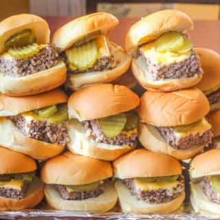 Copycat Krystal Hamburgers.An easy to make version of the original version.