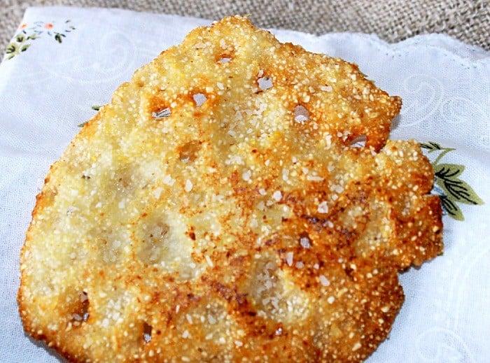 Lacey Cornbread aka Hot Water Cornbread