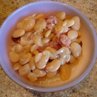 Ham Bone Gold(Recipe: Baby Lima Beans and Ham with Basmati Rice)