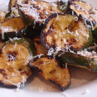 Grilled Rosemary Marinated Zucchini