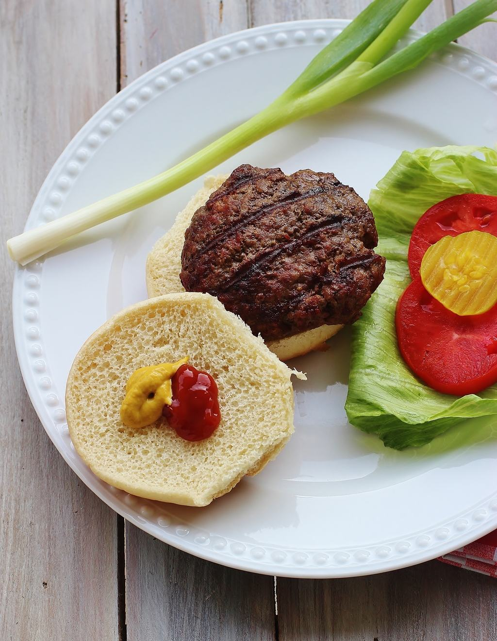 All-American Grilled Hamburgers