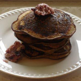 Buckwheat Squared (recipe:  Buckwheat Pancakes with Maple Blueberry Butter)