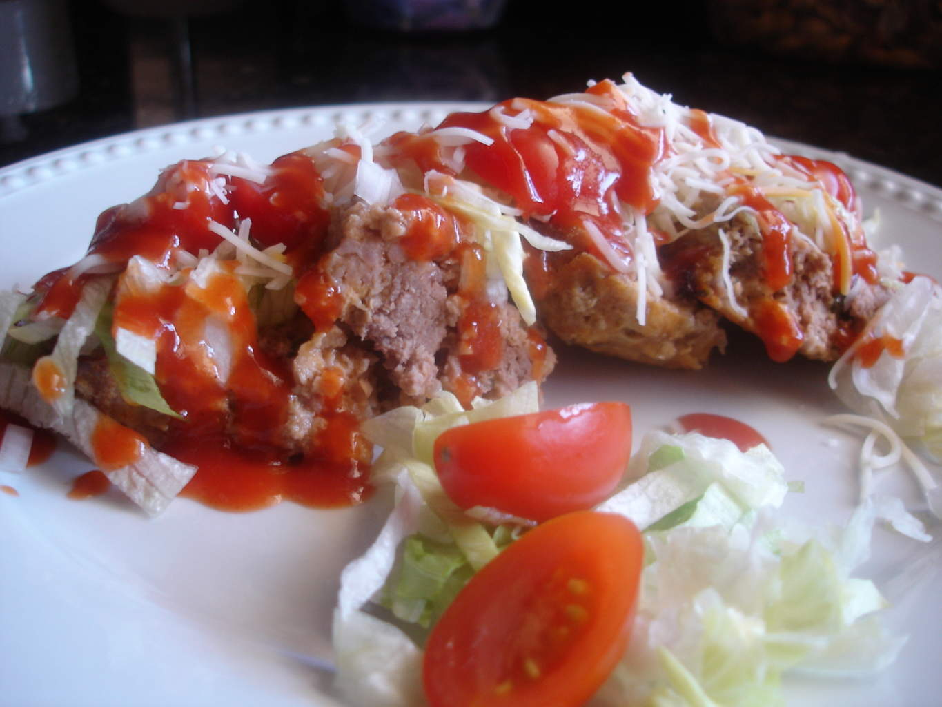 ... it's time for a meatloaf sandwich. Now, it's meatloaf……again