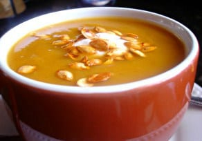 The Colors of Fall (recipe: Slow-cooker Butternut Squash Soup)