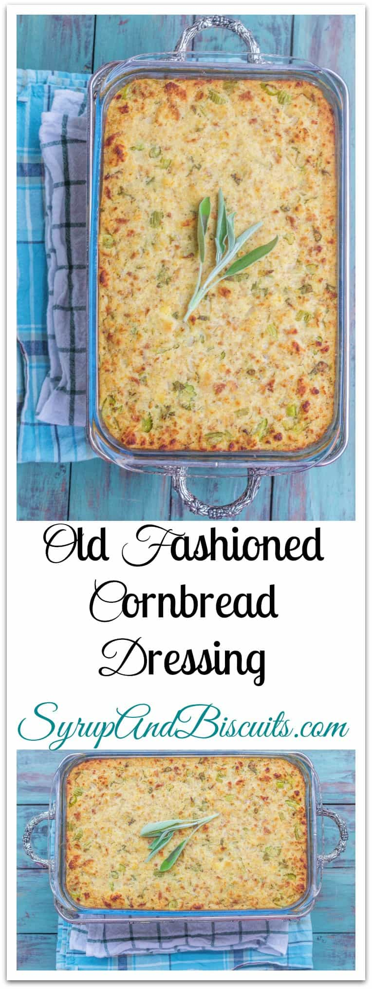 I think I might have figured out how to make Granny's Old Fashioned Cornbread Dressing even better. #Cornbread #Dressing