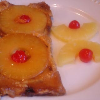 French Toast Fail (recipe: Pineapple Upside Down French Toast)