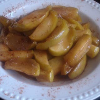 Cast Iron,  Apples and Goodness (recipe: Fried Apples)
