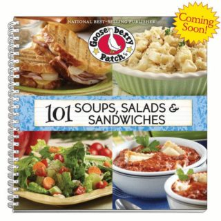 Cookbook Review:  101 Soups, Salads & Sandwiches (Recipe: Spicy Cabbage Apple Slaw)