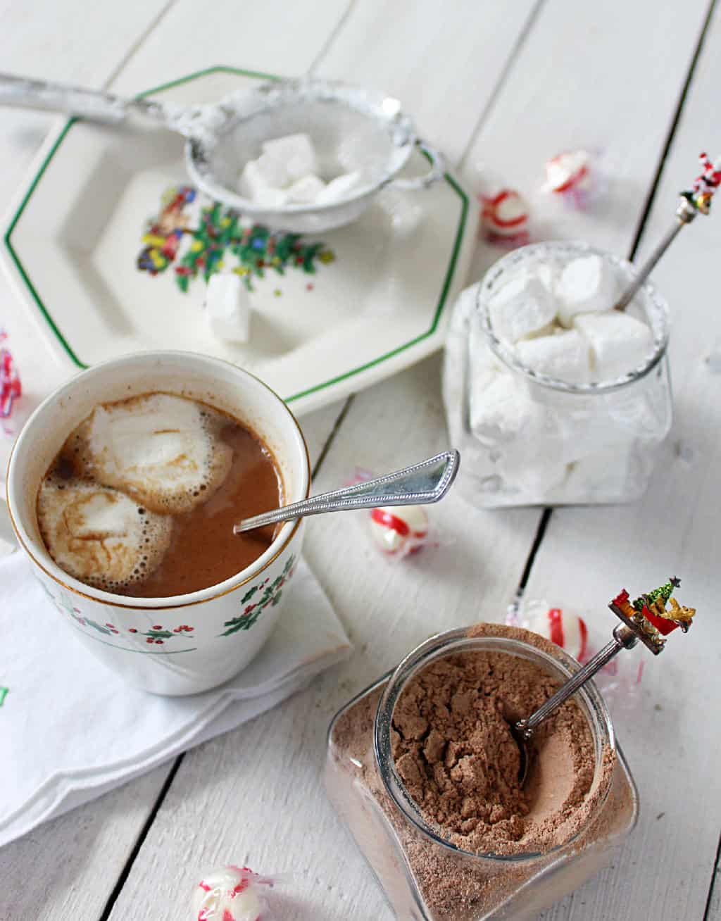 Making hot chocolate for a crowd - Hot Chocolate Mix
