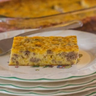 Christmas Morn Casserole. A make-ahead , sausage, egg, and cheese casserole. Mix it up at night and pop in the oven in the morning.