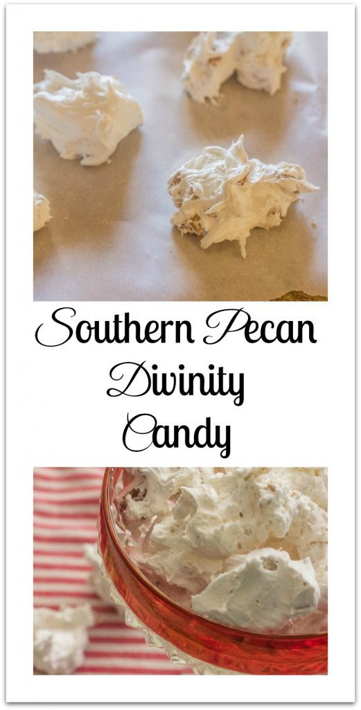 Southern Pecan Divinity Candy