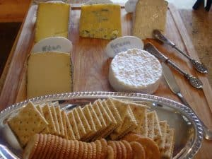 A Southern-style Wine and Cheese Christmas Party