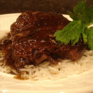 Home Cooking (Recipe: Braised Beef Shanks)