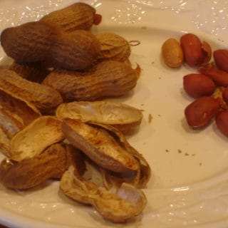 Cotton and Peanuts (Recipe:  Parched Peanuts)