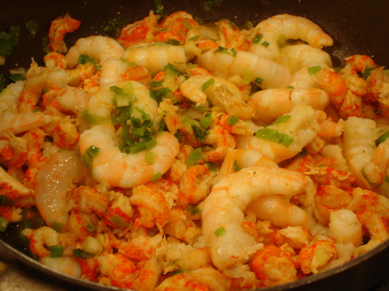 how to cook sea shrimps