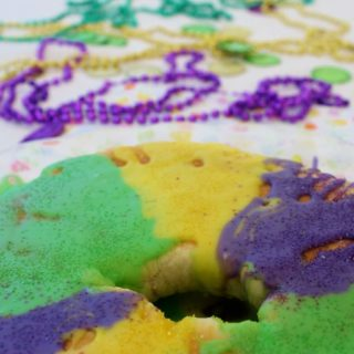 A Special Cake for the Season (Recipe:  King Cake)