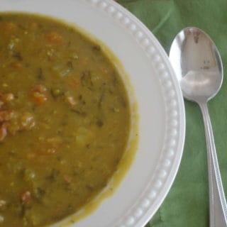A Close Second (Recipe: Slow-cooker Split Pea Soup)