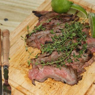 Lime and Thyme Rhyme(Recipe: Lime and Thyme Marinated Flank Steak)