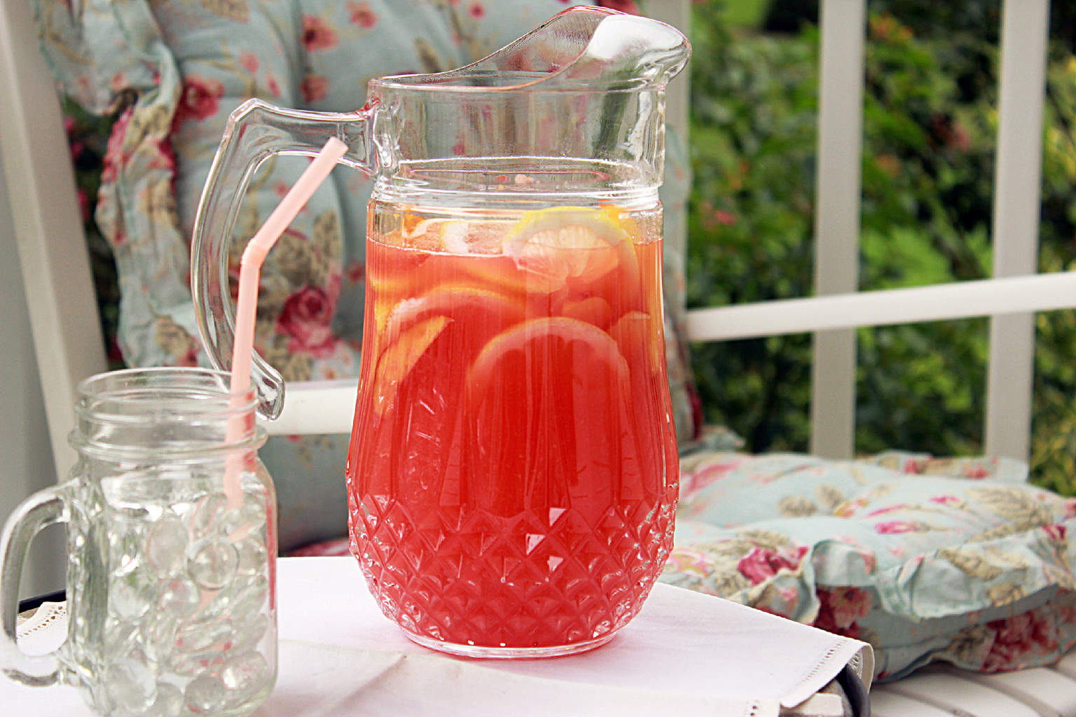 Rosemary Peach Lemonade