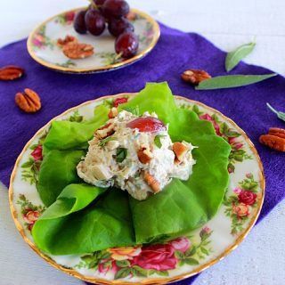 It's Fancy! (Recipe: Pecan Sage Chicken Salad)