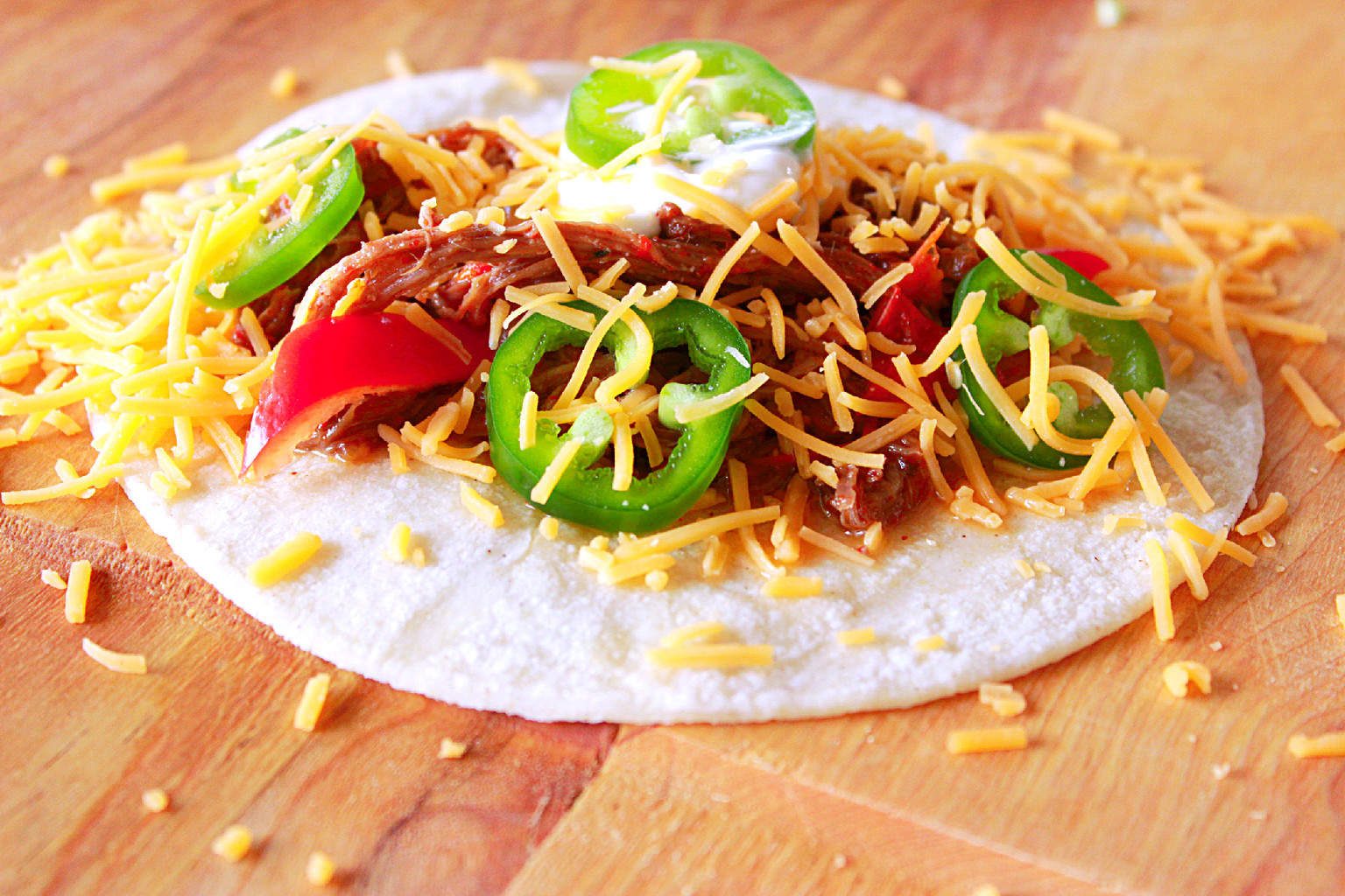 The Alarming Grocery Bill (Recipe: Flank Steak Slow-cooker Fajitas)