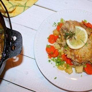 The Urge to Cook(Recipe: Braised Lemon Rosemary Chicken Thighs)
