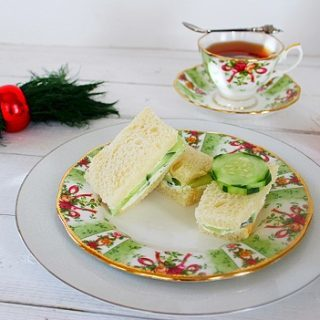Civilized (Recipe:  Cucumber Tea Sandwich)