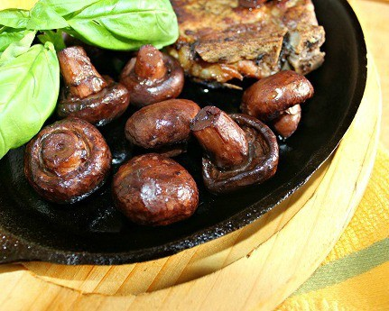 Mushrooms Sauteed in Wine and Butter ~ Syrup and Biscuits
