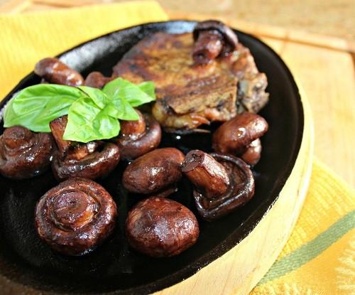 Wine Sauteed Mushrooms