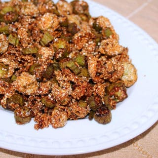 A Bait of Okrey (Recipe: Southern Fried Okra)