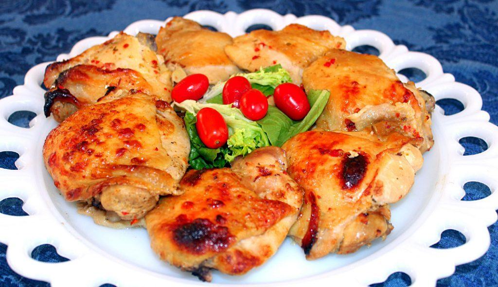 Italian Chicken~Syrup and Biscuits