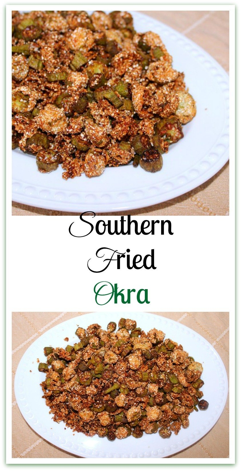 Recalling my grandmother's instructions on how to make good Southern Fried Okra paints a picture, in words and images, that I hope I never forget.  There's no need for me to do anything more than straight out explain how she taught me. #SouthernFried #SouthernOkra
