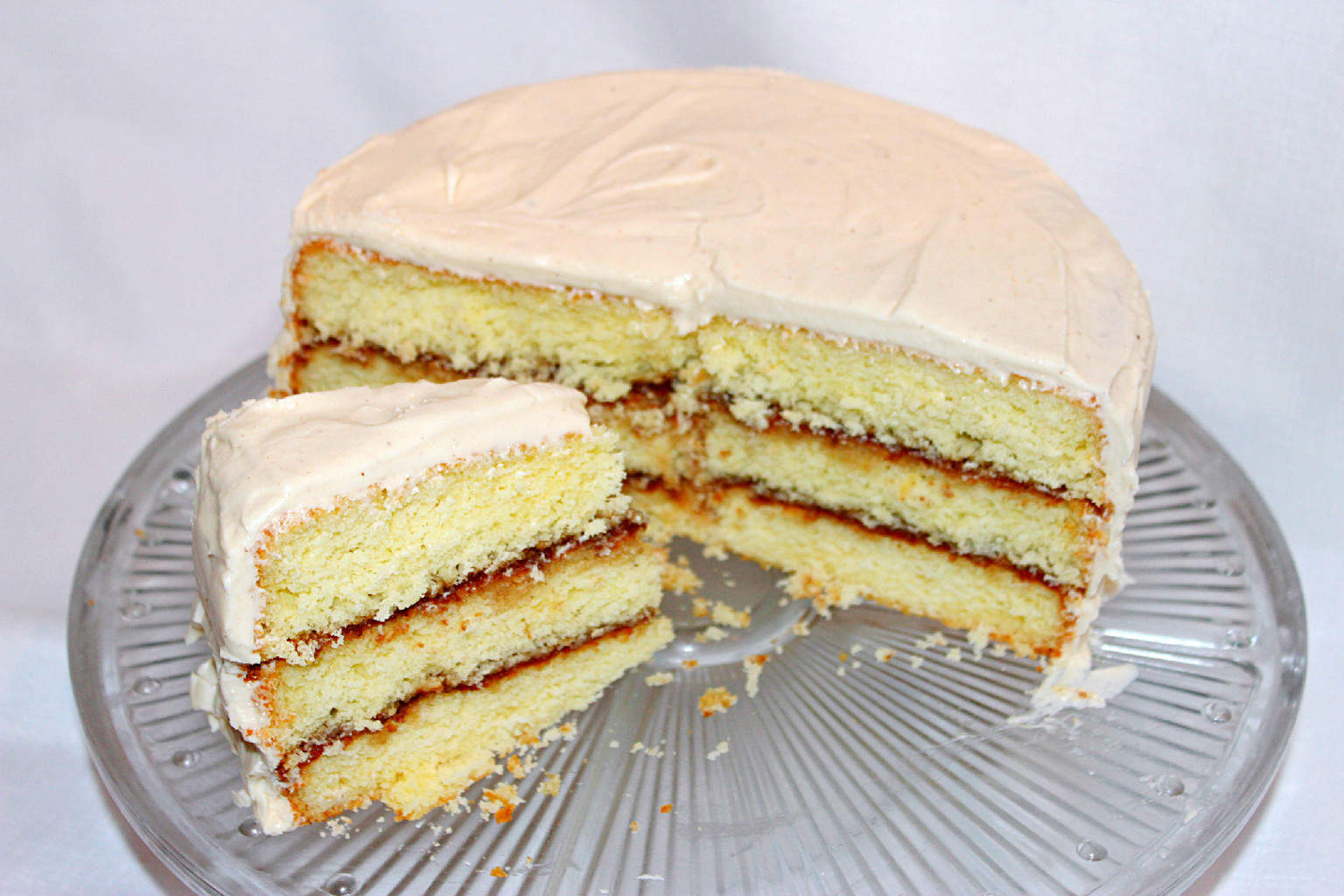 Easy Scratch Cooking(Recipes: 1-2-3-4 Cake and Apple Butter Cake with Apple Butter Cream Cheese Icing)