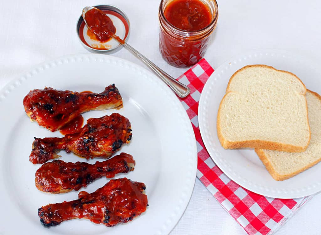 Oven BBQ Chicken with Homemade Sweet and Smokey BBQ Sauce
