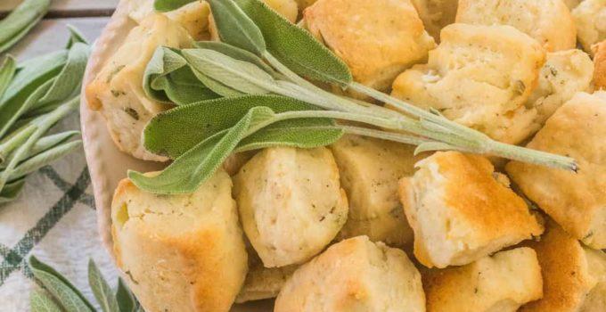 Sage Onion Biscuits
