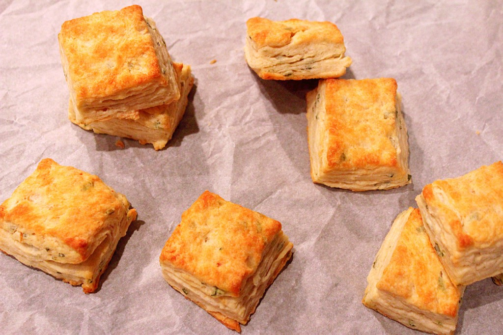Sage and Onion Biscuits ~ Syrup and Biscuits