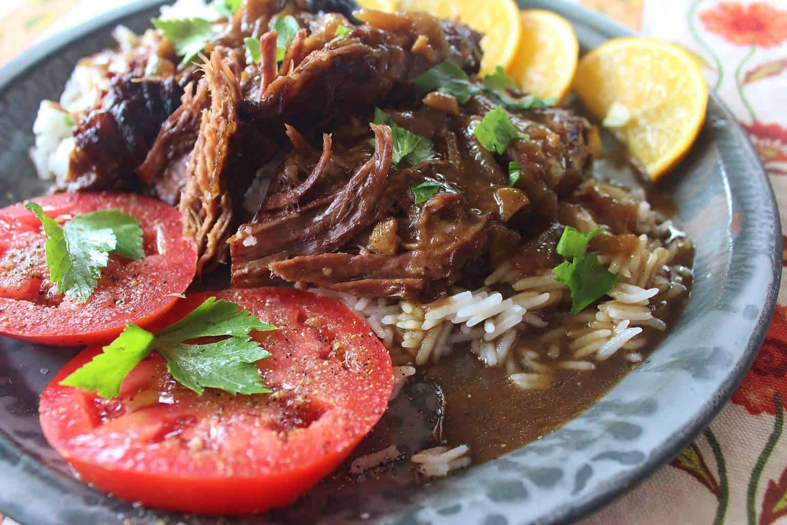 Surprise! (Recipe: Beef Pot Roast with Onion Gravy)