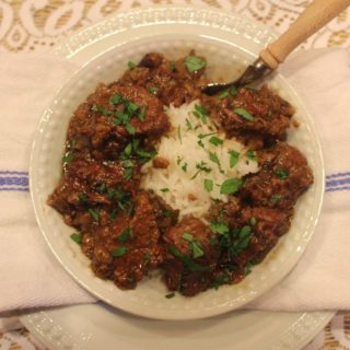 2014 Announcement (Recipe: Stewed Beef and Rice)