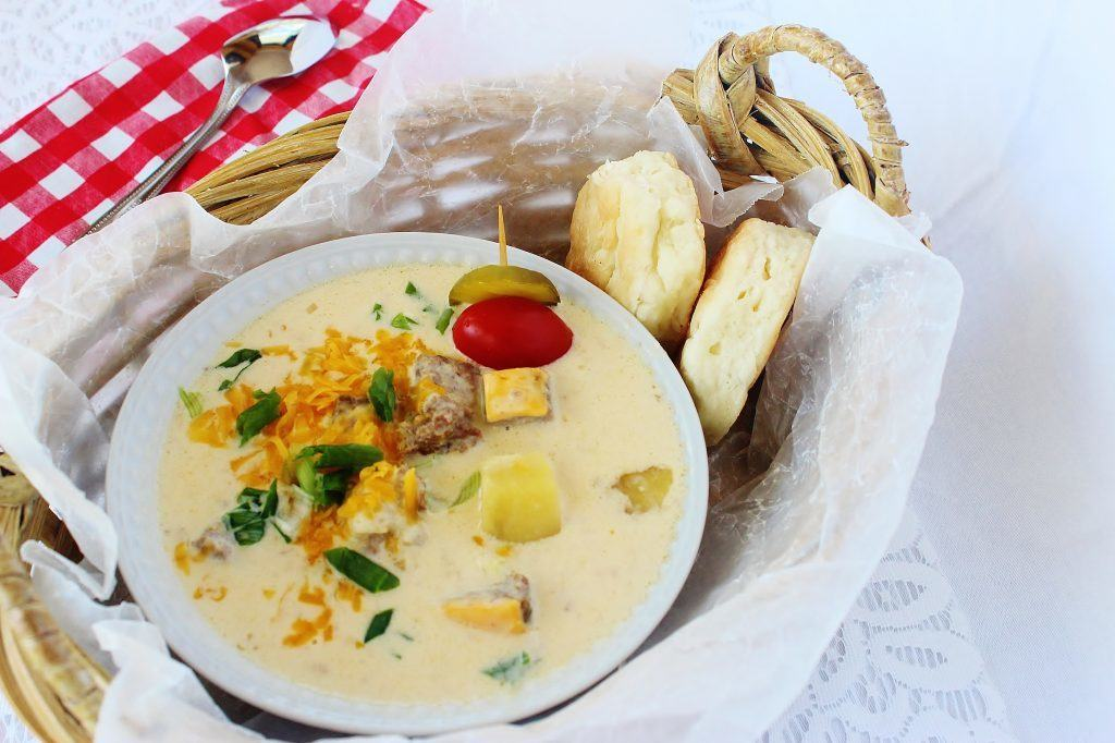 Cheeseburger Chowder 2 ~Syrup and Biscuits