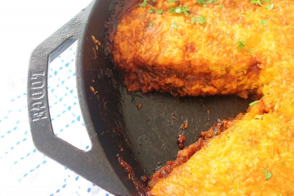 Peachy BBQ Chicken Skillet - Lodge