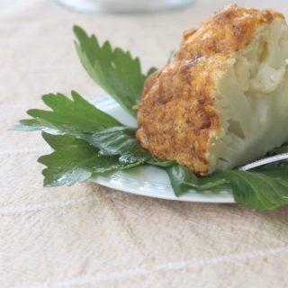 Cajun Roasted Whole Cauliflower