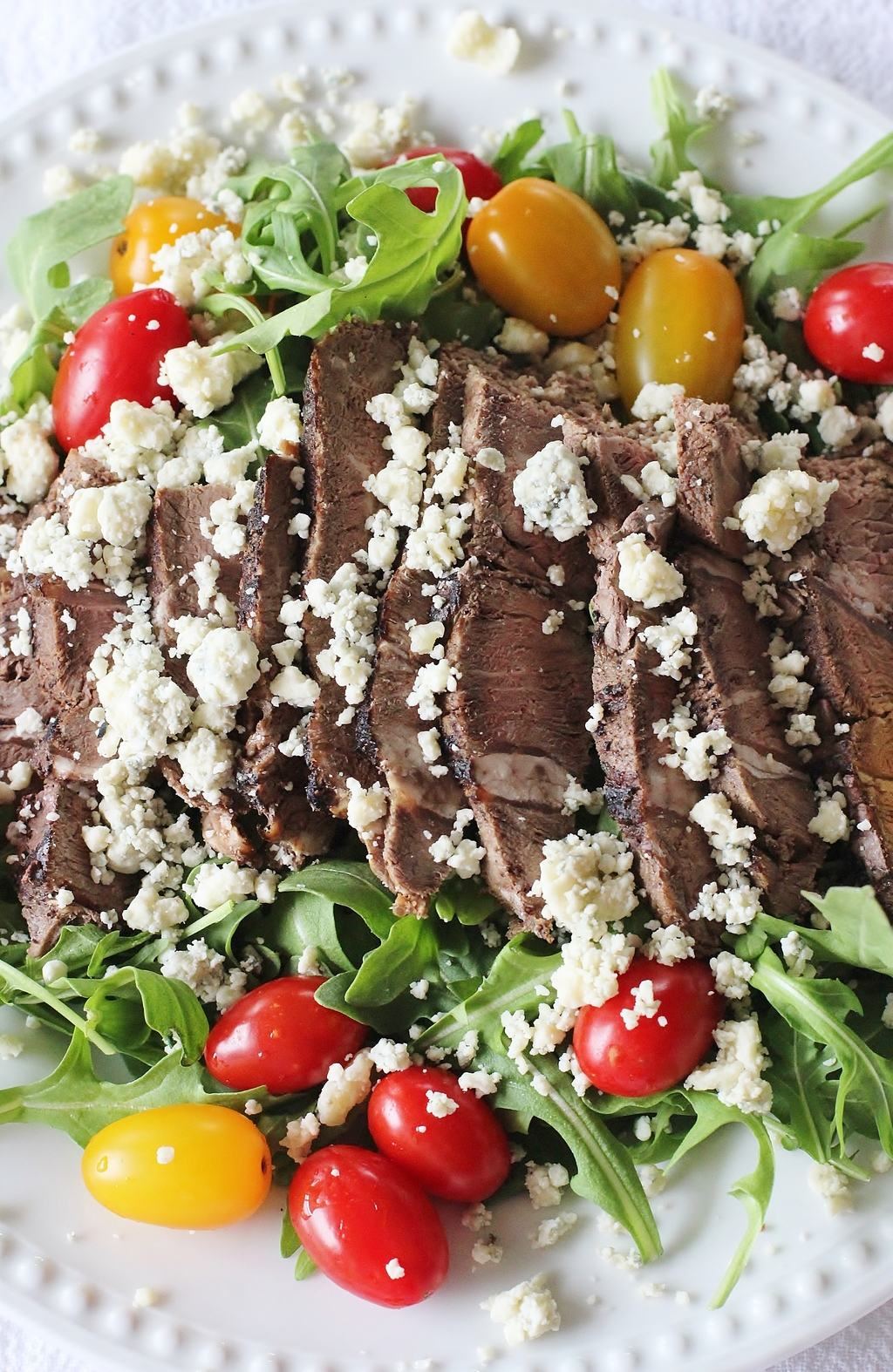 Sirloin Steak and Arugula Salad