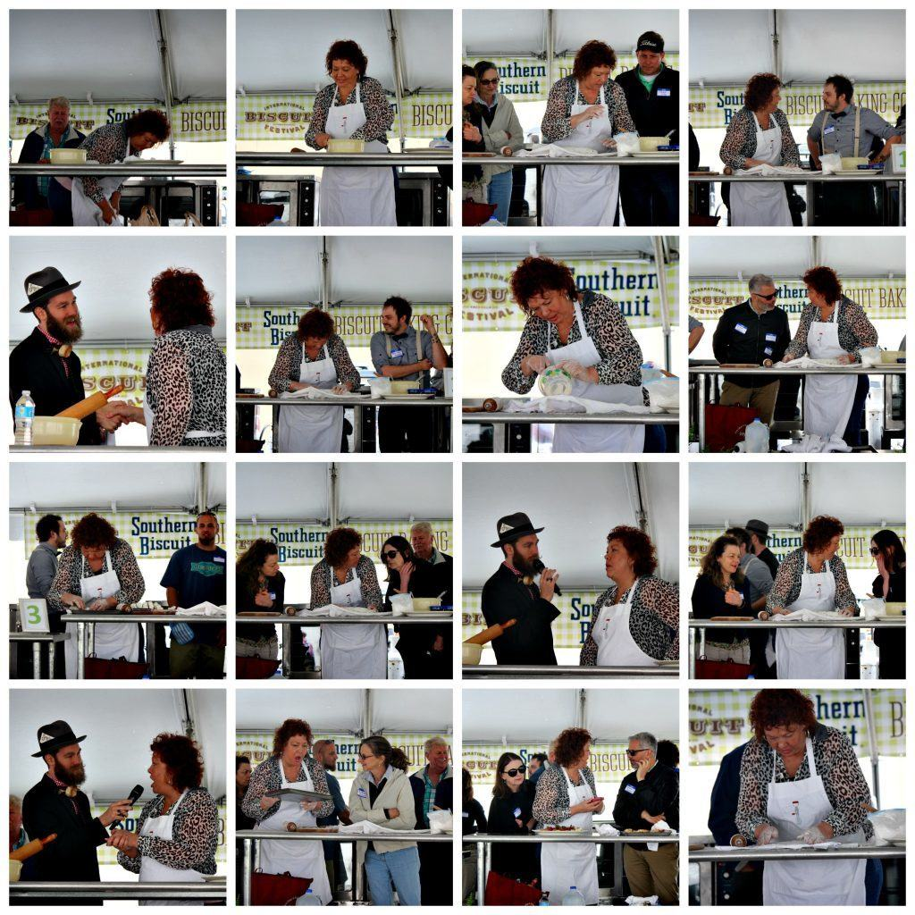 biscuit baking contest collage