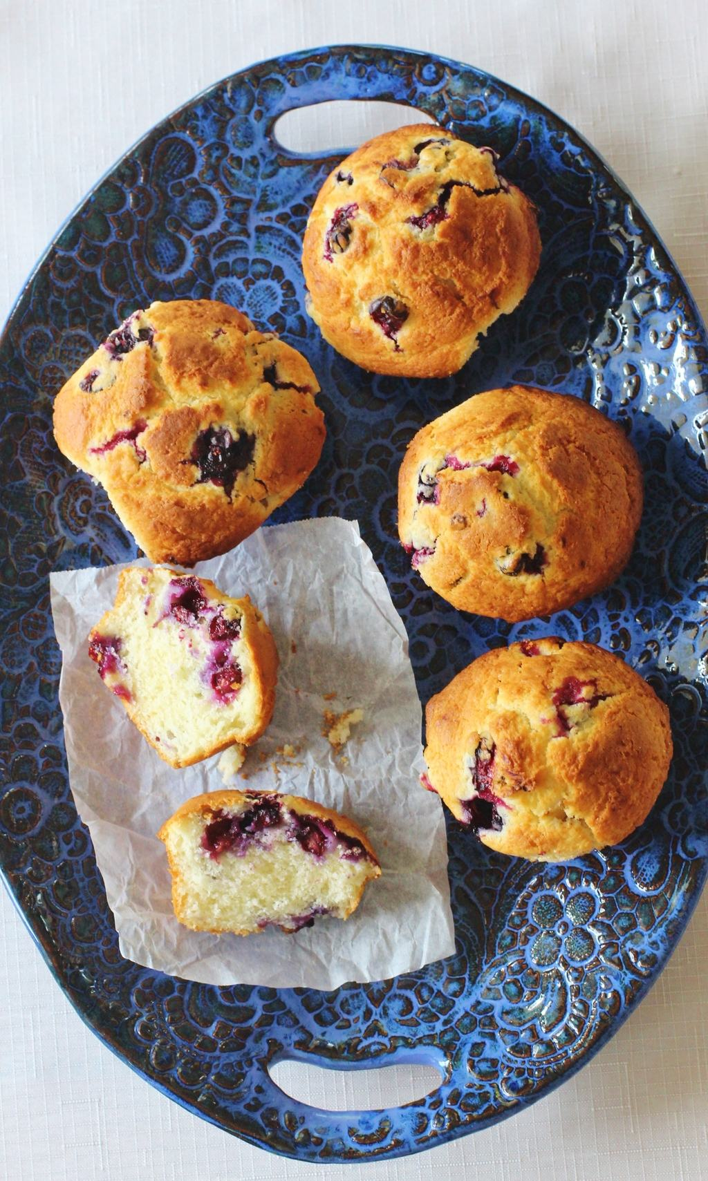 Blueberry Buttermilk Muffins | Syrup and Biscuits