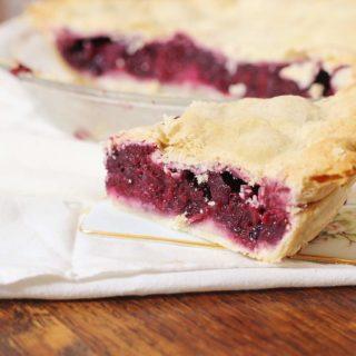 Blackberry Pie with Butter Pie Crust